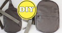 Sling Bag DIY nur Rucksack