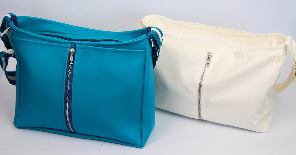 Handtasche nähen mit Reißverschluss
