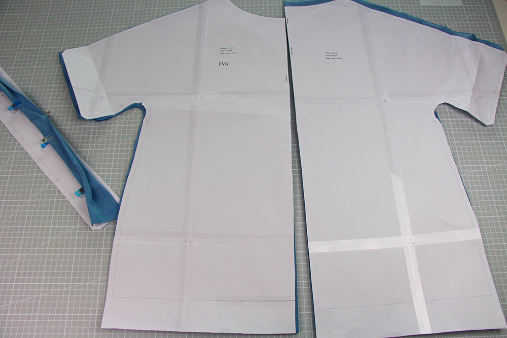Einfaches T-Shirt nähen für Anfänger - 02 Schnittmuster