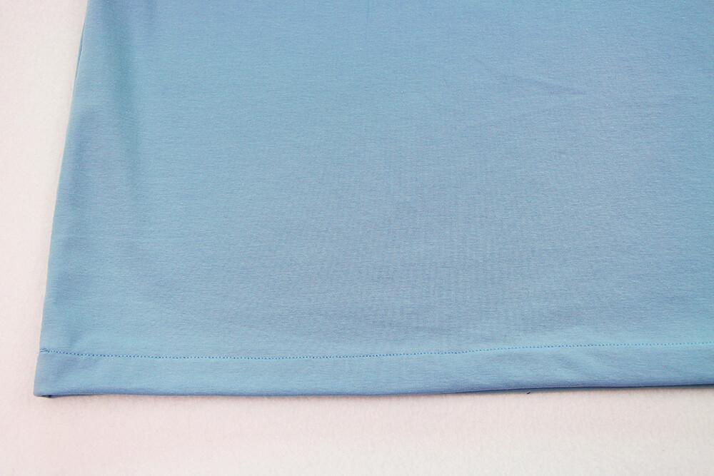 Einfaches T-Shirt nähen für Anfänger - 18 Saum
