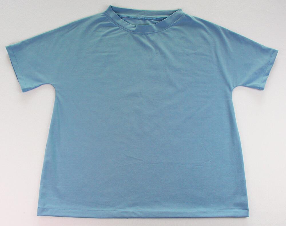 Einfaches T-Shirt nähen für Anfänger - 19 fertiges T-Shirt