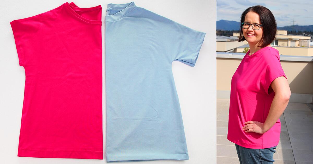 T-Shirt Eva nähen