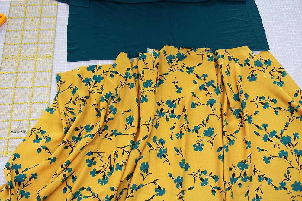 Einfaches Kleid nähen für Anfänger - 02 Material
