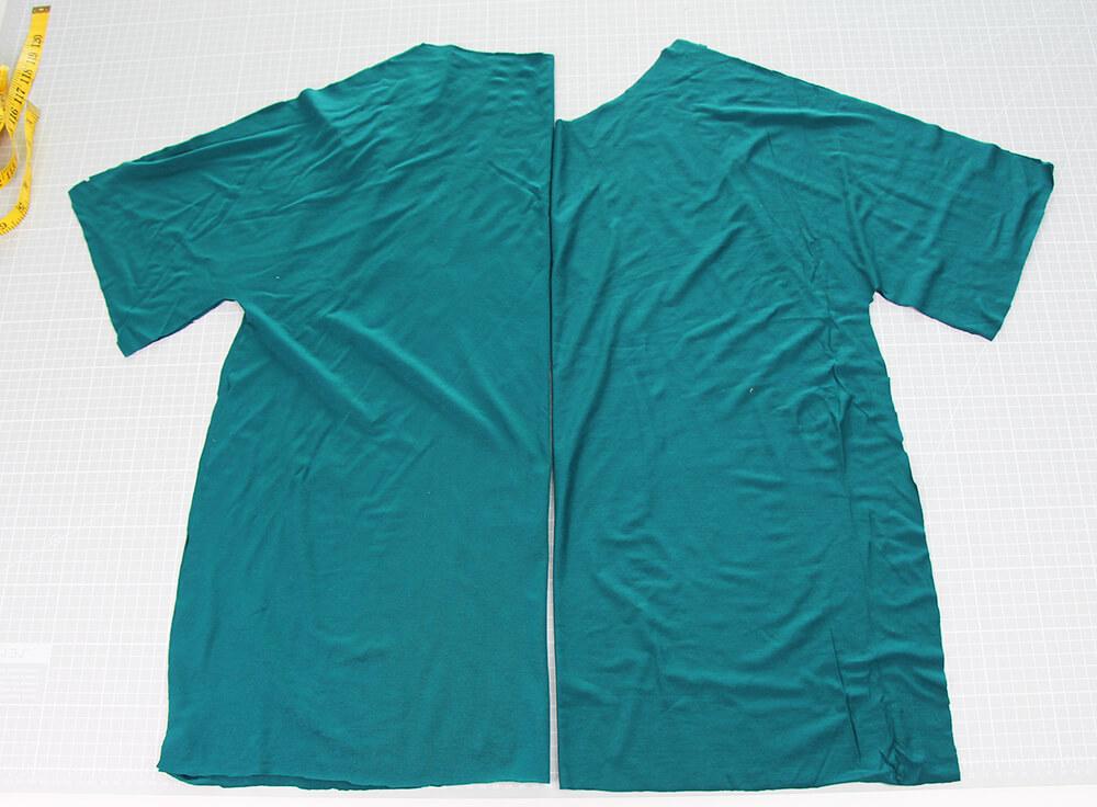 Einfaches Kleid nähen für Anfänger - 04 Schnittteile