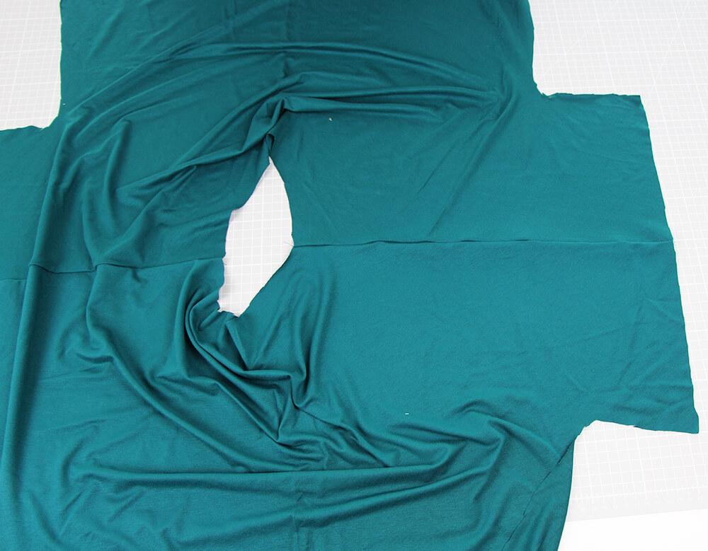 Einfaches Kleid nähen für Anfänger - 05 Schulternaht