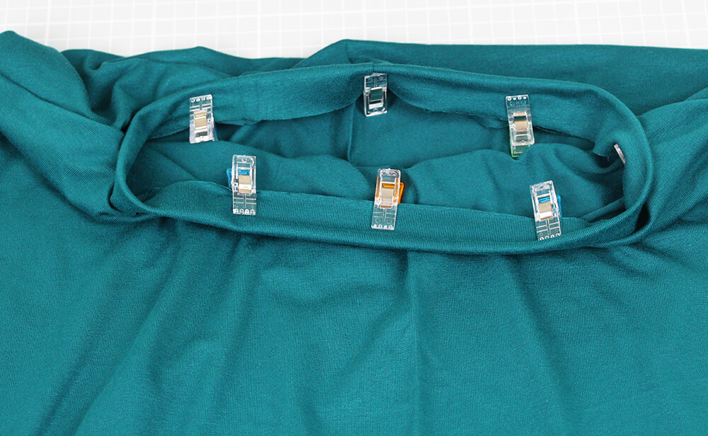 Einfaches Kleid nähen für Anfänger - 06 Halsausschnitt