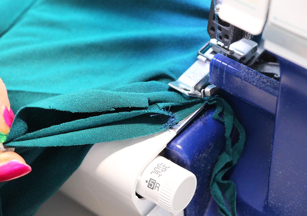 Einfaches Kleid nähen für Anfänger - 08 Halsausschnitt