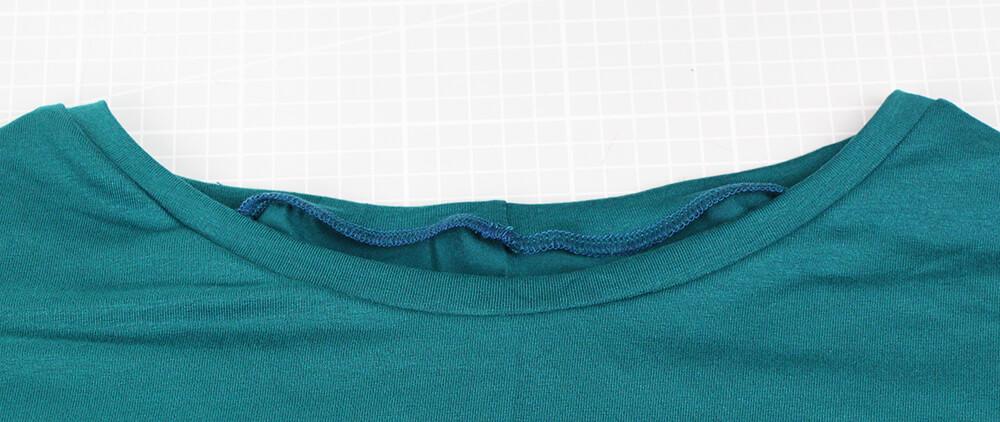 Einfaches Kleid nähen für Anfänger - 09 Halsausschnitt