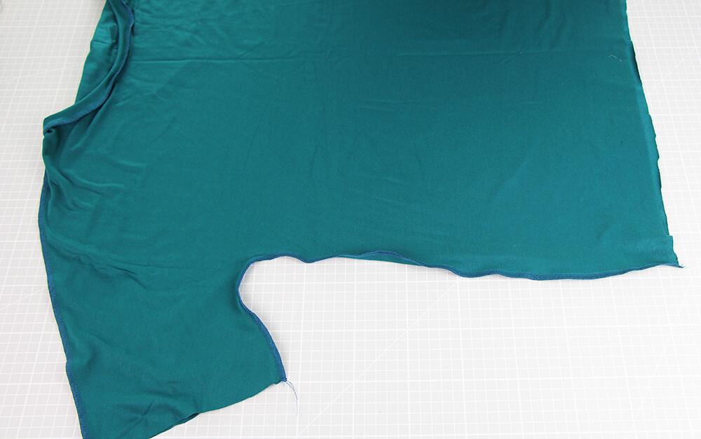 Einfaches Kleid nähen für Anfänger - 10 Seitennaht