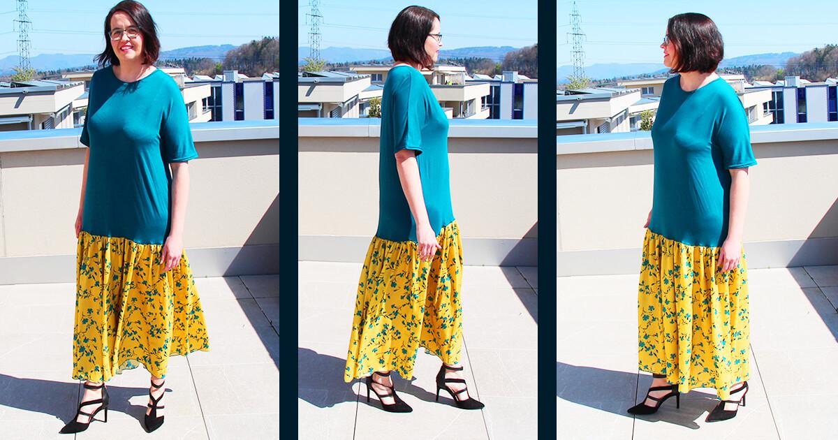 Kleid kostenlos schnittmuster DIY MODE