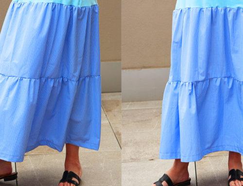 Einfaches Kleid nähen für Anfänger 👗 Schnittmuster kostenlos