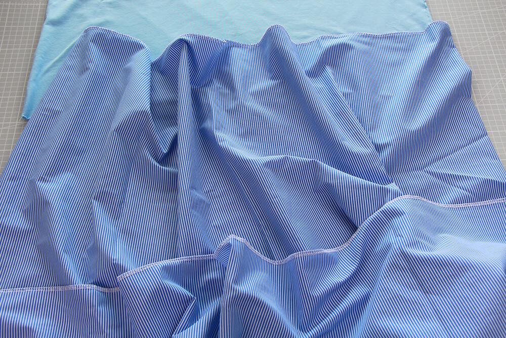 Einfaches Kleid selber nähen ohne Schnittmuster - 01 Schnittteile