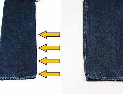 Jeans enger nähen 👖 Beine schmäler nähen für Anfänger