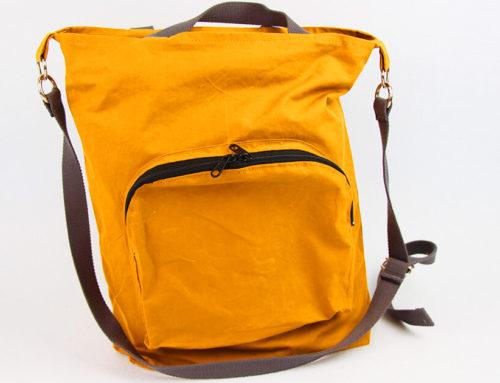 Tasche nähen mit Reissverschluss und Innentaschen ✂️ Tasche Emden