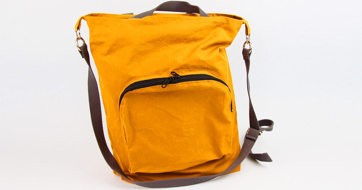 Tasche nähen mit Reißverschluss und Innentaschen Tasche Emden